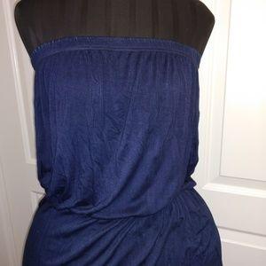 Umgee dip-dye maxi dress